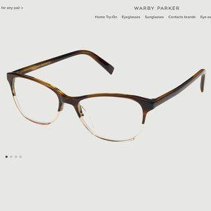 Warby Parker Daisy Eyeglasses Tea Rose Fade